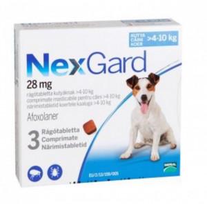 Nexgard S caini 4-10kg