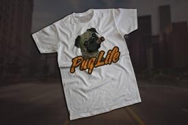 """Tricou """"PUG LIFE"""""""