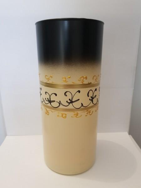 Poze Vaza sticla pictata manual Decor Cilindru