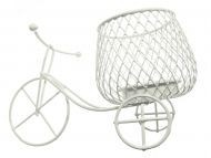 Bicicleta din sarma suport lumanare 15cm
