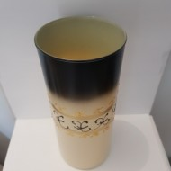 Vaza sticla pictata manual Decor Cilindru