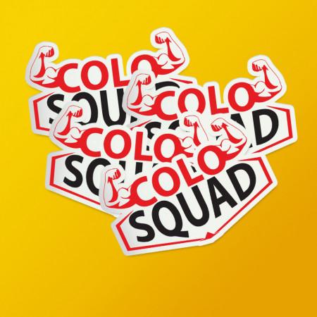 """Pack stickere """"Colo squad"""""""