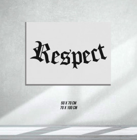 RESPECT (Tablouri Canvas)