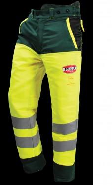Pantalone Antitaglio da Motosega Alta visibilità