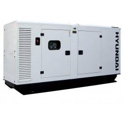 Generator de curent insonorizat Hyundai cu motor diesel DHY110KE ATS 100KVA