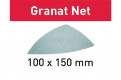Hartie de slefuit reticular Festool STF DELTA P120 GR NET/50 Granat Net