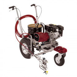 Pompa pentru marcaj rutier TITAN PowrLiner 2850, viteza trasare 126.8 m/min., duza max. 0.032″, motor Honda 3.5 cp
