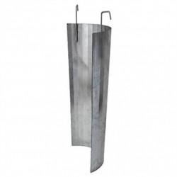 Protectie metalica pentru tub de evacuare deseuri