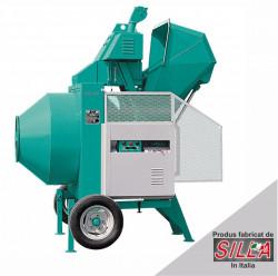 Betoniera semi-automata Imer BIR 330 motor diesel Kohler, 7.5 cp, capacitate 330 l, productie beton 6.5 mc/ora