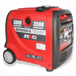 Generator inverter Senci SC4000iE-O, Putere max. 3.8 kW, 230V, AVR