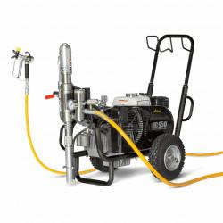 Pompa Hidraulica cu piston WAGNER HeavyCoat 950 G Spraypack benzina, motor Honda, debit material 8.0 l/min
