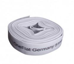 Furtun refulare tip pompieri 4 toli pentru irigatii One Flat Germany rola 20M