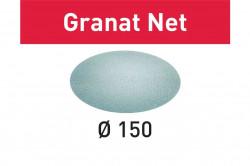 Hartie de slefuit reticular Festool STF D150 P220 GR NET/50 Granat Net