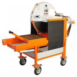 Masina de taiat caramida BISONTE KTV 650, disc 650 mm, lungime taiere 500 mm