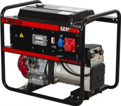 Generator de curent si sudura profesional demaraj electric CombiFlash GENMAC G221HEO-M curent maxim sudura 220DC demaraj electric