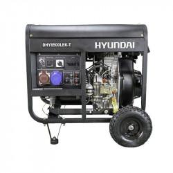Generator de curent trifazat Hyundai DHY8500LEK-T 5.5 Kw