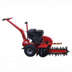 Masina de Sapat Santuri Bisonte BTA-450TR, adancime max. 450 mm, productivitate 60 m/h, motor 6.5 cp