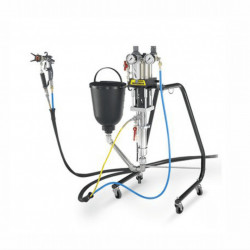 Pompa industriala pentru metal si lemn Wagner FineFinish 20-30 Spraypack Stand, Debit material 1.8 l/min