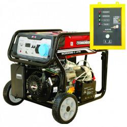 Generator de curent monofazat SC-8000-ATS, Putere max. 7.0 kw