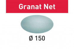 Hartie de slefuit reticular Festool STF D150 P80 GR NET/50 Granat Net