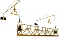INCHIRIERE NACELA SUSPENDATA PE CABLURI (PLATFORMA) - STARLIFT, sarcina maxima 850 kg, lungime platforma 2-10 m, inaltime maxima 150 m.
