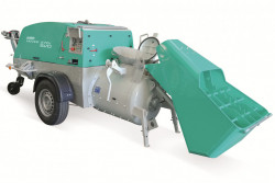 Pompa diesel pentru sapa cu paleta incarcare Mover 270 DB EVO T5 Motor Yanmar 35 kW Stage V