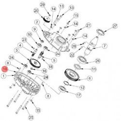 Garnitura reductor pentru betoniera Imer Syntesi 190/250