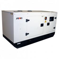 Generator insonorizat SCDE 162YCS-ATS, Putere max. 162 kVA, 400V, AVR, motor Diesel
