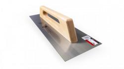 Gletiera otel cu maner din lemn 48cm - RUBI-65988