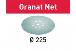 Hartie de slefuit reticular Festool STF D225 P320 GR NET/25 Granat Net