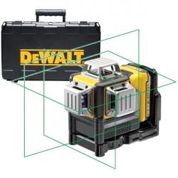 Nivela laser cu linii, fascicul verde 360 grade Dewalt DCE089D1G