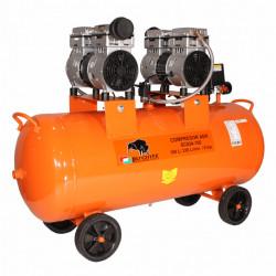 Compresor de aer fara ulei Bisonte SC024-100, debit aer 336 l/min. butelie 100 L