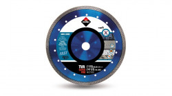 Disc diamantat pt. materiale foarte dure 115mm, TVA 115 SuperPro - RUBI-31932