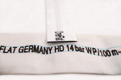 Furtun refulare si irigatii presiune 14 bari One Flat Germany HD 100 mm