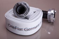 Furtun refulare tip pompieri 100 mm rola 20 m + cuple One Flat Germany