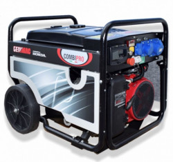 Generator de curent profesional trifazat GENMAC COMBIPRO G5500HEC-M putere maxima 5 8/5 kVA demaraj electric