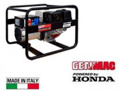 Generator de curent profesional trifazat portabil GENMAC seria Click G5500HO