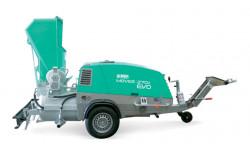 Pompa diesel pentru sapa cu paleta incarcare , remorcabila Imer Mover 270 DBR EVO T5 Yanmar 35 kW Stage V