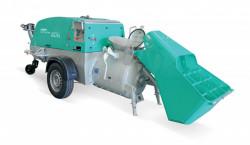 Pompa diesel pentru sapa, fara furtunuri, cu paleta incarcare IMER Mover 270 DB EVO WT T5 ,Motor Yanmar 35 kW Stage
