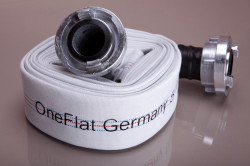 Furtun refulare tip pompieri 125 mm rola 20 m + cuple One Flat Germany