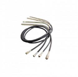 Lance si cap vibrant pentru pentru vibrator IMER FX2000 diam. Ø 43 mm, 4 m lungime
