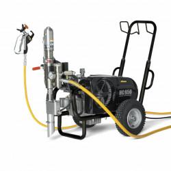 "Pompa Hidraulica cu piston WAGNER HeavyCoat 950 E SSP Spraypack, debit material 6.6 l/min, duza max. 0,052"", motor electric 3,6 kW"