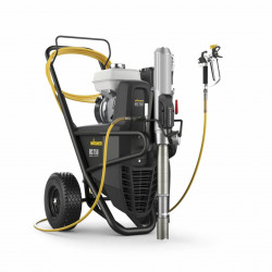 Pompa hidraulica de vopsit WAGNER HeavyCoat 750 G Spraypack benzina, motor Honda, debit material 7.6 l/min