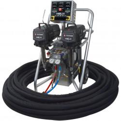 Pompa pentru spuma poliuretan Titan Helix VR 2.3, Debit material 8.7 l/min., 227,5 bar