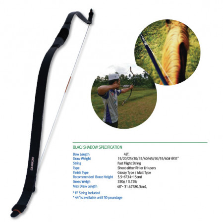Arc horsebow Freddie Archery Nomad Black Shadow
