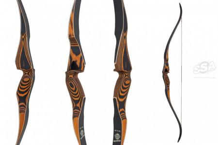 Arc hunting bow one piece Oak Ridge Hardwood