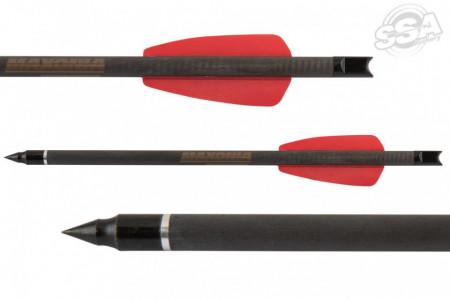 Set Sageti Pistol Arbaleta Carbon Maximal Maxonia - 12 Bucati