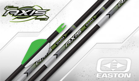 Sageata Easton Axis Carbon PRO 5mm - set 6 bucati