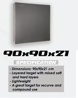 Tinta polifoam Avalon 90cm x 90cm x 21cm