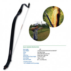 Arc horsebow Freddie Archery Nomad Black Shadow